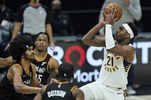 Pacers beat Cavaliers 111-102, move into ninth place in East