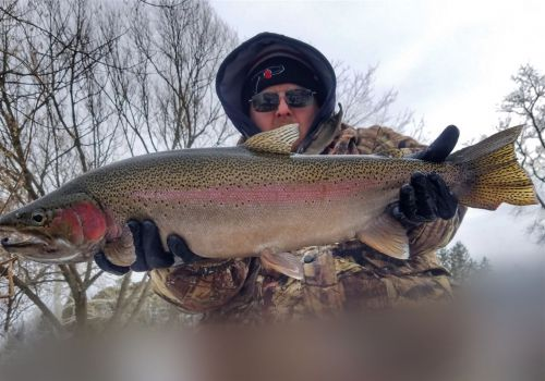 Fishing Report: Low temperatures but no ice = little fishing
