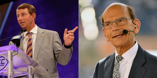 Clemson head coach Dabo Swinney fired back after Paul Finebaum called him 'the most annoying winner in all of sports'