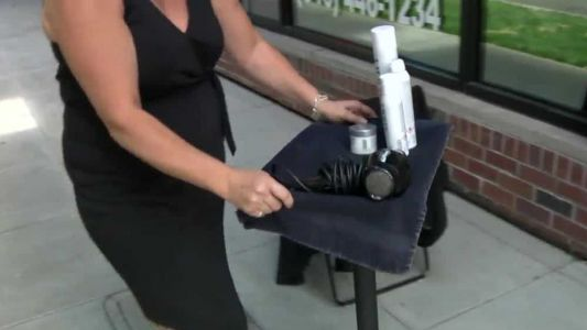 California salons forced to operate outside amid heat wave