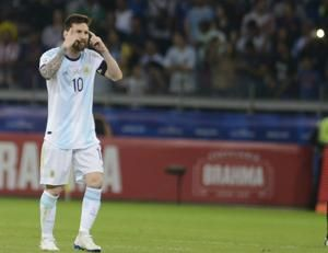 Argentina draws with Paraguay 1-1 in Copa America