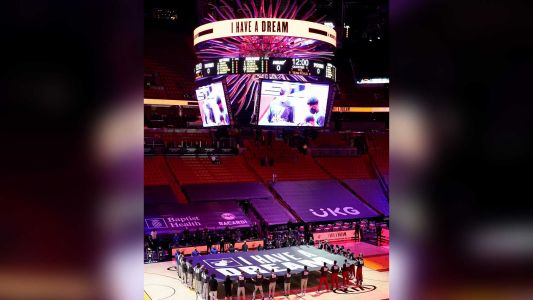 Miami Heat to use COVID-19-sniffing dogs to screen fans at basketball games