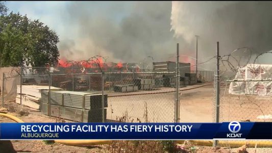 Owner of Friedman Recycling Facility says center has fiery history