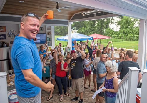 Ya Jagoff podcast throws a porch party with a purpose