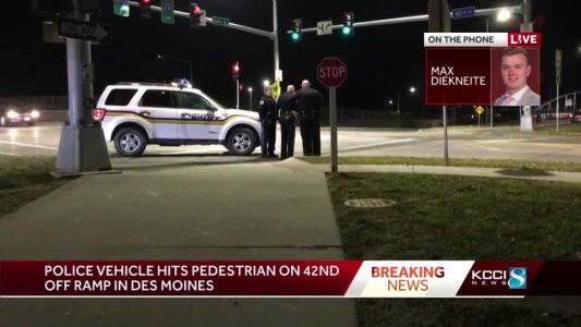Police: Officer had red light when they turned, struck woman