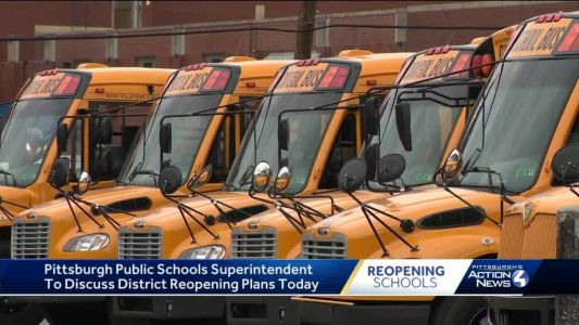 Pittsburgh Public Schools to provide update on district's reopening plans