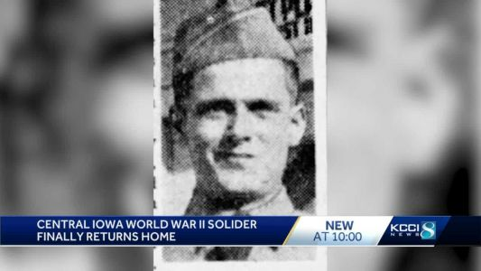 World War II soldier's body to return home 80 years after going MIA
