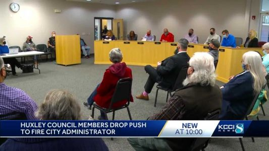 Two Huxley City Council members fail at their attempt to get city administrator fired