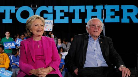 Paging pot, this is kettle: 'Nobody likes him,' Hillary Clinton says of 'divisive' Bernie Sanders