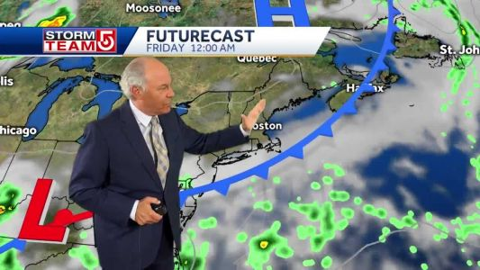Video: Scattered storms tonight; Cooler temperatures in days ahead