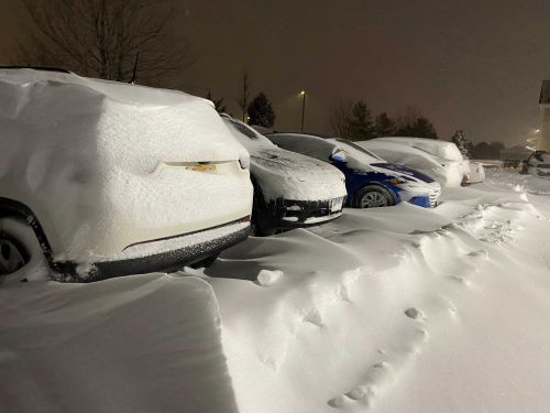 Digging Out: More than a foot of snow reported in parts of Iowa