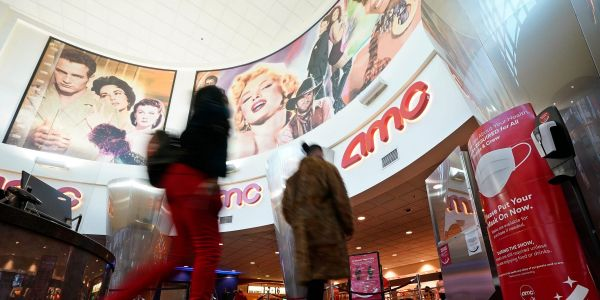 AMC rises as S&P upgrades the Reddit favorite, citing a path to sustainability for the theater operator