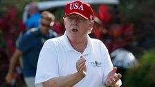 Trump's Golf Trips To Mar-a-Lago Cost County $13.8 Million For Local Security
