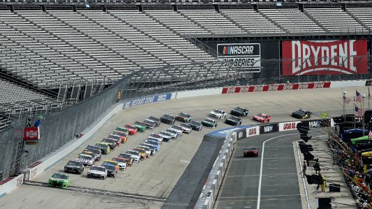 NASCAR lineup at Dover: Starting order, pole for Sunday's race without qualifying