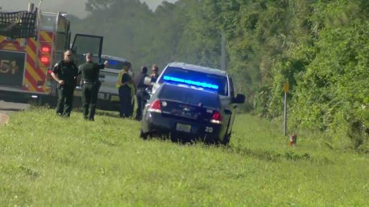 Person accused of stealing police cruiser arrested after chase ends on I-95