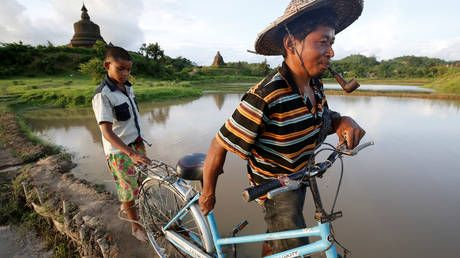 Over 18,000 people forced from homes after monsoon flooding in Myanmar