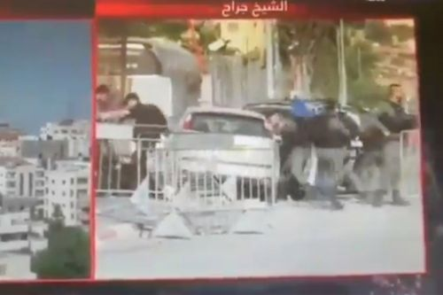 Driver rams into Israeli police checkpoint, leaving 7 officers hurt