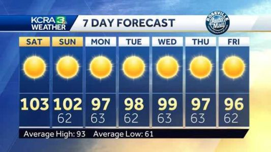 Sunny and Hot Weekend