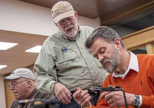 Social bonds are knotted at fly tying meetings