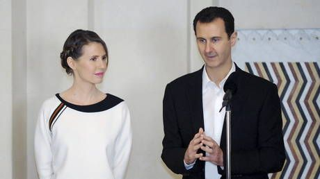 Syria's President Bashar Assad and wife test positive for Covid-19