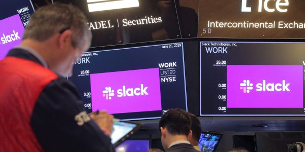 Slack surges 7% on report that Salesforce takeover will be announced Tuesday afternoon at a premium