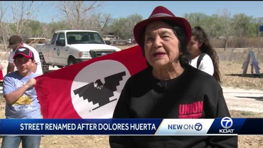 Stretch of Bridge Boulevard to be renamed after civil rights activist Dolores Huerta