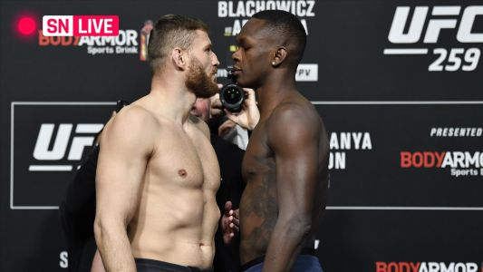 UFC 259 live updates, results, highlights from Israel Adesanya vs. Jan Blachowicz fight & full card