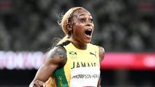 Elaine Thompson-Herah Wins 2nd Straight 100-Meter Gold In Blazing Time