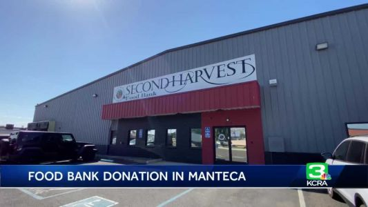 Food bank in Manteca gets big donation from Starbucks