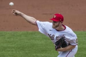 Nationals' Strasburg ejected for arguing - from the stands