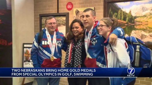 Two Nebraskans bring home Special Olympics gold medals