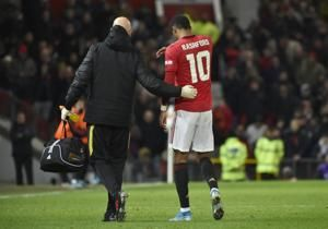Man United set to be without Marcus Rashford for weeks