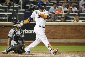 Canó's 1st 3-homer game leads Mets over Padres 5-2