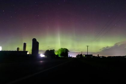 PHOTOS: Northern Lights Visible Further South Than Normal, Thanks To Solar Ejection