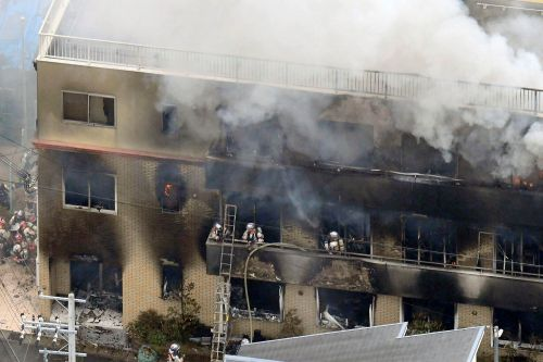 Suspect in deadly Japan fire yelled 'You die!' during attack