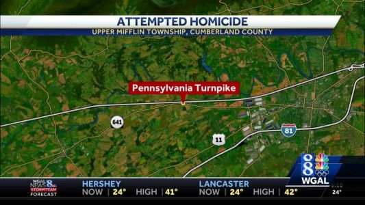Pennsylvania State Police say suspect took trooper's gun after chase, crash on turnpike