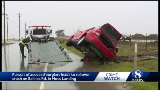 Driver in high speed chase ending with fatal rollover booked on murder charges