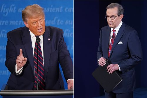 Trump accuses Chris Wallace of siding with Joe Biden in first presidential debate