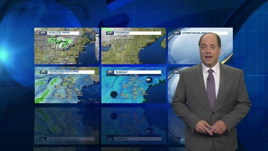 Watch: Rain from nor'easter arrives Wednesday evening