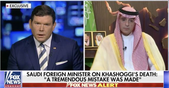 Saudi foreign minister denies the crown prince had anything to do with Khashoggi's death as Trump says 'there's been lies' in Saudi Arabia's explanations