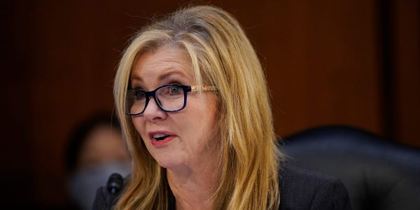 GOP Sen. Marsha Blackburn says being called a 'Neanderthal' is actually a good thing after Biden criticized states for lifting mask mandates