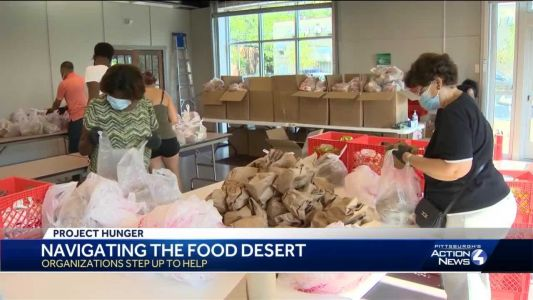 Greater Pittsburgh Community Food Bank partners with groups to make a difference