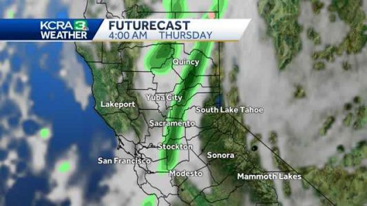 Hazy sun and mild days. Changes move in by the end of the week. Some rain returns