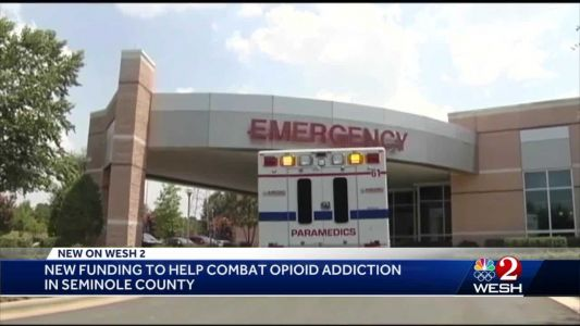 'Never again': New funding to help combat opioid addiction in Seminole County
