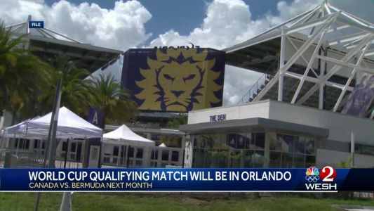 World Cup qualifying match will be in Orlando