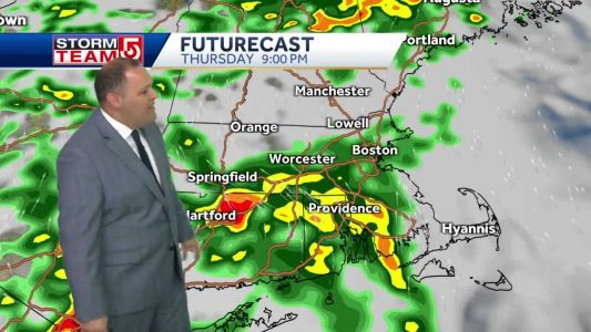 Video: Evening storms may produce heavy rain, strong winds