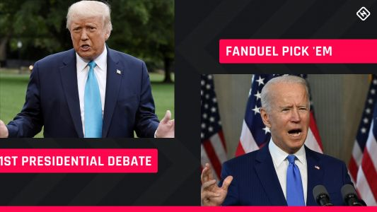 FanDuel Presidential Pick 'em: Prop bet-style picks for first Trump-Biden debate