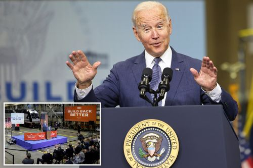 'Swear to god, true story,' Biden says as he tells 'false' Amtrak story for 5th time