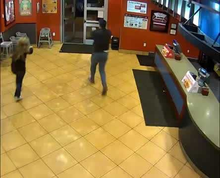 Married off-duty cops pause date night to stop masked robber at Raising Cane's