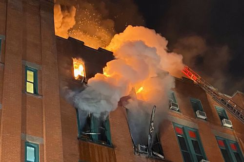 Three-alarm fire breaks out at popular city-owned building in Chinatown